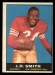 1961 Topps #60  J.D. Smith  Front Thumbnail