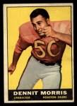 1961 Topps #147  Dennit Morris  Front Thumbnail