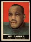1961 Topps #6  Jim Parker  Front Thumbnail