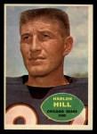1960 Topps #16  Harlon Hill  Front Thumbnail
