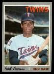 1970 Topps #290  Rod Carew  Front Thumbnail