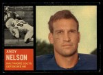 1962 Topps #10  Andy Nelson  Front Thumbnail