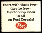 1962 Post Cereal #6 AD Roger Maris  Back Thumbnail