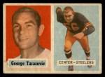 1957 Topps #39  George Tarasovic  Front Thumbnail