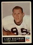 1965 Philadelphia #143  Gary Ballman   Front Thumbnail