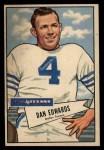 1952 Bowman Large #77  Dan Edwards  Front Thumbnail