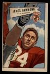 1952 Bowman Large #69  James Hammond  Front Thumbnail