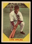 1960 Fleer #27  Luke Appling  Front Thumbnail