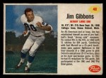 1962 Post #48  Jim Gibbons  Front Thumbnail