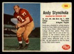 1962 Post #199  Andy Stynchula  Front Thumbnail
