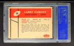 1960 Fleer #95  Larry Cundiff  Back Thumbnail