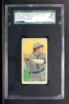 1909 T206 #364 OFF Joe Tinker  Front Thumbnail