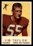 1959 Topps #155  Jim Taylor  Front Thumbnail