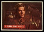 1956 Topps Davy Crockett #39 GRN  A Surprising Offer  Front Thumbnail