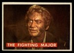 1956 Topps Davy Crockett #52 GRN  The Fighting Major  Front Thumbnail