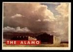 1956 Topps Davy Crockett #50 GRN  The Alamo   Front Thumbnail
