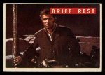 1956 Topps Davy Crockett #62 GRN  Brief Rest  Front Thumbnail