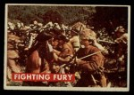 1956 Topps Davy Crockett #16 GRN  Fighting Fury  Front Thumbnail