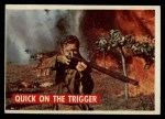 1956 Topps Davy Crockett #15 GRN  Quick on the Trigger  Front Thumbnail