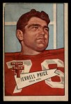 1952 Bowman Large #49  Jerrell Price  Front Thumbnail