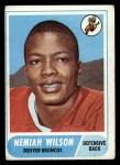 1968 Topps #199  Nemiah Wilson  Front Thumbnail