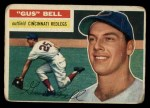 1956 Topps #162  Gus Bell  Front Thumbnail