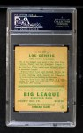 1933 Goudey #160  Lou Gehrig  Back Thumbnail