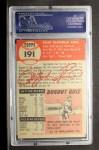 1953 Topps #191  Ralph Kiner  Back Thumbnail