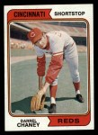 1974 Topps #559  Darrel Chaney  Front Thumbnail