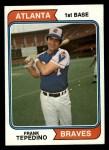 1974 Topps #526  Frank Tepedino  Front Thumbnail