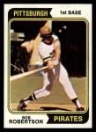 1974 Topps #540  Bob Robertson  Front Thumbnail
