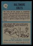 1964 Philadelphia #13   Colts Team Back Thumbnail