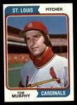 1974 Topps #496  Tom Murphy  Front Thumbnail