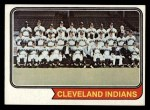 1974 Topps #541   Indians Team Front Thumbnail