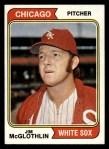 1974 Topps #557  Jim McGlothlin  Front Thumbnail