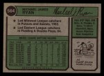 1974 Topps #564  Mike Ryan  Back Thumbnail