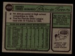 1974 Topps #499  Rusty Torres  Back Thumbnail