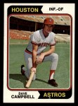 1974 Topps #556  Dave Campbell  Front Thumbnail
