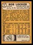 1968 Topps #51  Bob Locker  Back Thumbnail