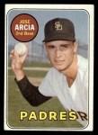 1969 Topps #473 ^YN^ Jose Arcia  Front Thumbnail