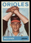 1964 Topps #382  Wes Stock  Front Thumbnail