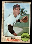 1968 Topps #97  Tom Phoebus  Front Thumbnail