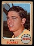 1968 Topps #218  Ken Suarez  Front Thumbnail