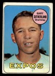 1969 Topps #326  Gary Sutherland  Front Thumbnail
