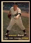 1957 Topps #25  Whitey Ford  Front Thumbnail