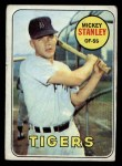 1969 Topps #13  Mickey Stanley  Front Thumbnail