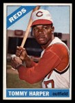 1966 Topps #214  Tommy Harper  Front Thumbnail