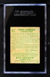 1934 Goudey #35  Ernie Lombardi  Back Thumbnail