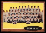 1962 Topps #334   Red Sox Team Front Thumbnail