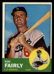 1963 Topps #105 xSTR Ron Fairly  Front Thumbnail